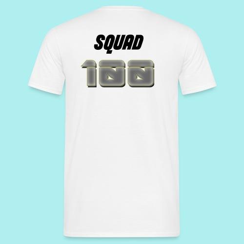 METTALIC 100 SUBSCRIBERS - Men's T-Shirt
