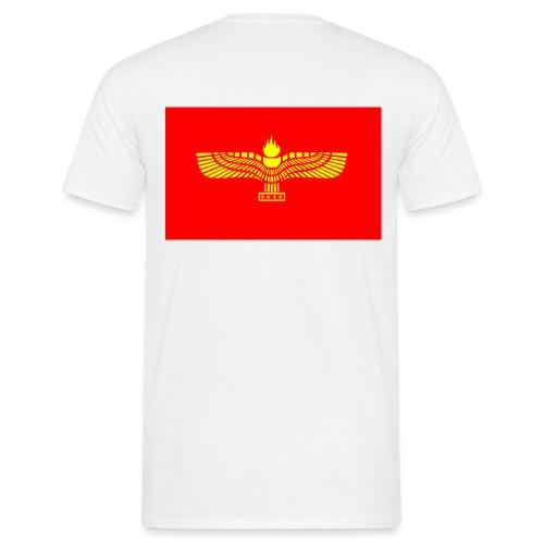 Aramean Official Flag HD - Mannen T-shirt