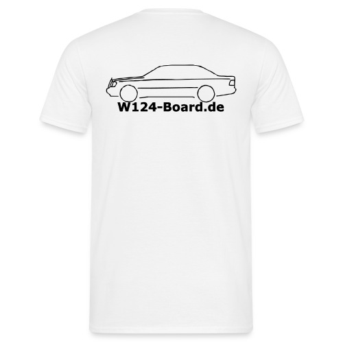 w124shirt - Männer T-Shirt