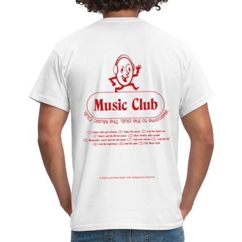 Music Club - Camiseta hombre
