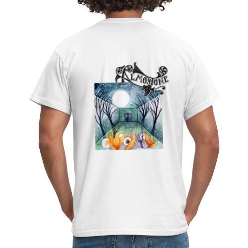 Tygpåse med svart logga - T-shirt herr