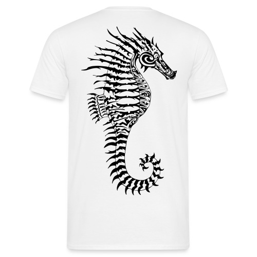 Alien Seahorse Invasion - Men's T-Shirt
