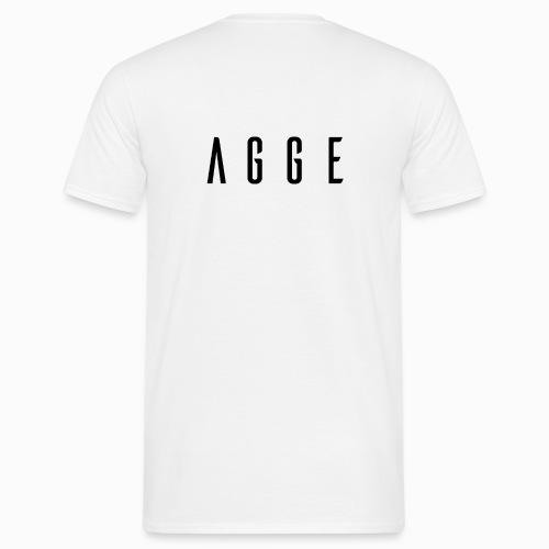 Agge - Svart logga   Bak - T-shirt herr