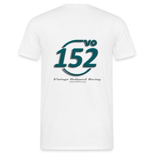 152VO Klassenzeichen petrol Text - Männer T-Shirt