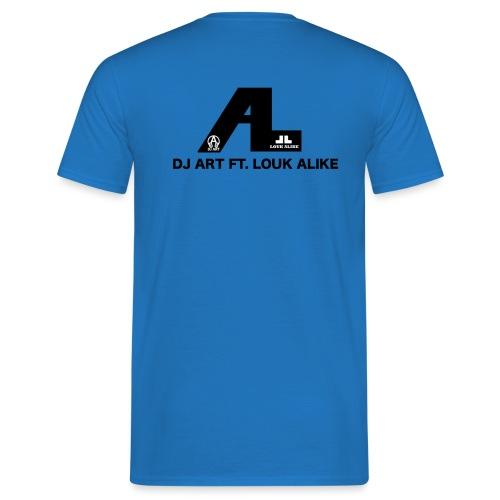 DJ Art ft. Louk Alike (lichte pull-kleuren) - Mannen T-shirt