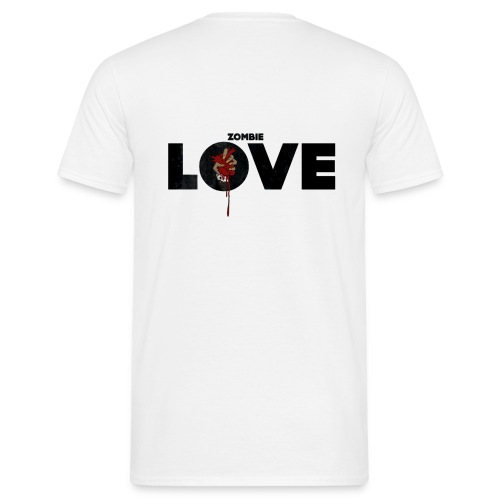 zombie love - T-shirt Homme