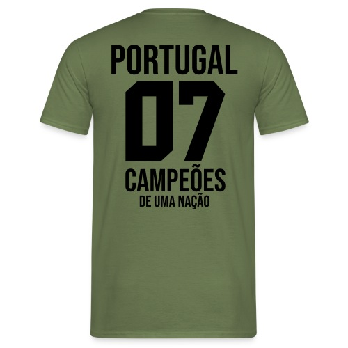 PORTUGAL07 - T-shirt Homme