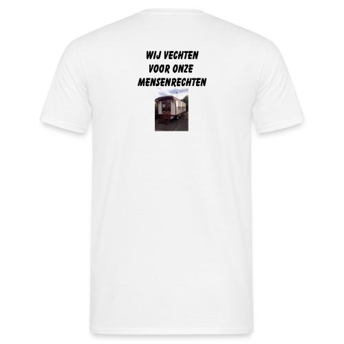 wij vechten voor onze mensen rechten - Mannen T-shirt