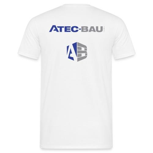 Atec_Logo_nur Schriftzug - Männer T-Shirt