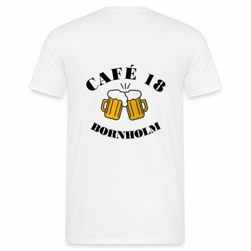 Café 18 Logo 2020 - Herre-T-shirt