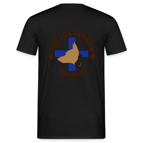finland tft mustapaa - Miesten t-paita