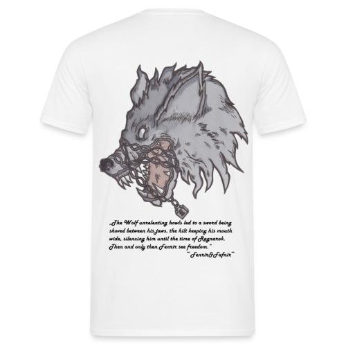 Fenrir Wolf - Männer T-Shirt