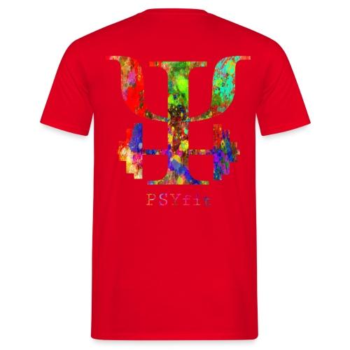 Watercolour splatter - Men's T-Shirt