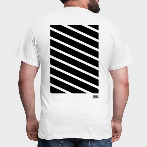 Zebra Nation (Black Stripes) 2019 Collection - Men's T-Shirt