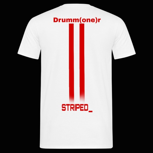 Striped_ - Men's T-Shirt