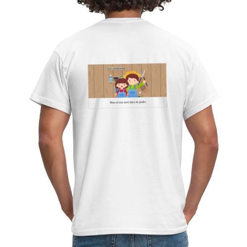 Max et Léa sont dans le Jardin - T-shirt Homme