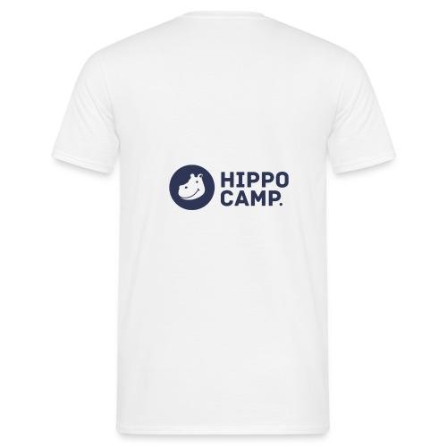 Logo horizontal bleu 4x - T-shirt Homme