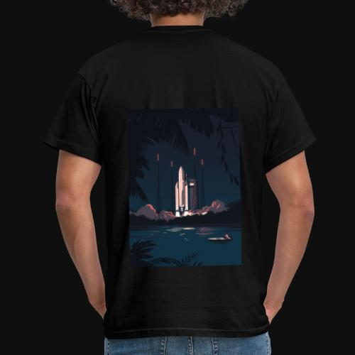 Ariane 5 - Launching By Tom Haugomat - Men's T-Shirt