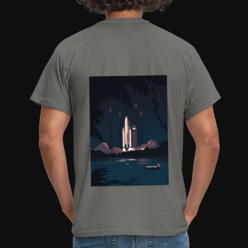 Ariane 5 - Launching By Tom Haugomat - Men's T-Shirt