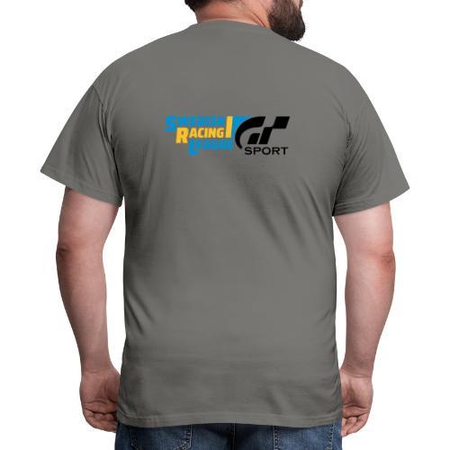Swedish Racing League GT Sport svart - T-shirt herr