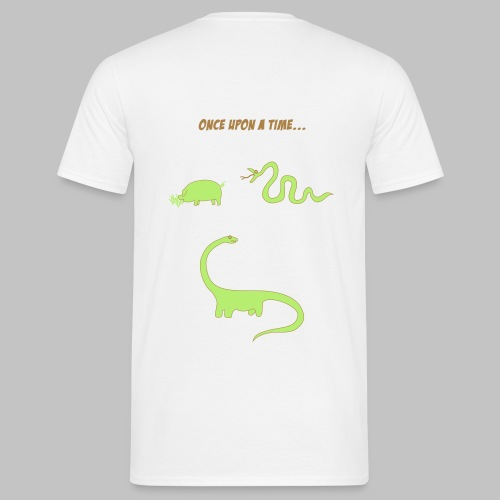 Pig and snake - Men's T-Shirt