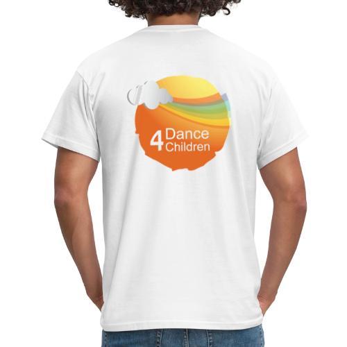 Dance4Children Logo - Mannen T-shirt