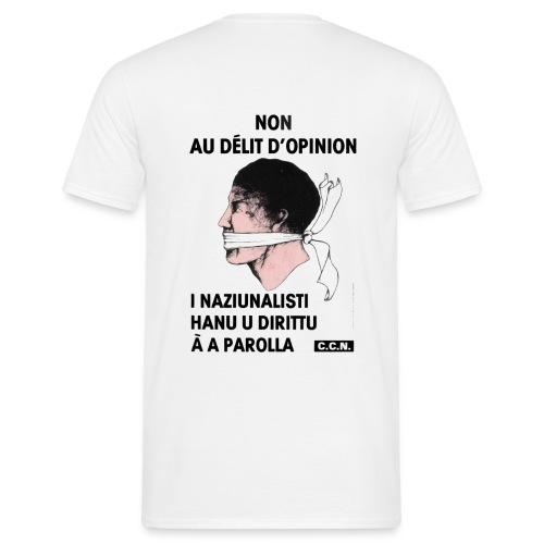 délit opinion - T-shirt Homme
