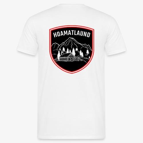 Hoamatlaund logo - Männer T-Shirt