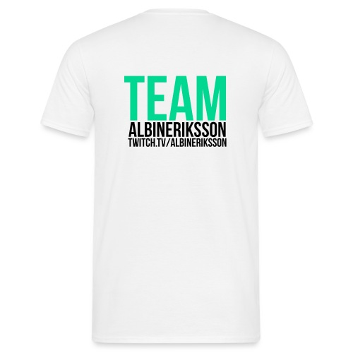 Team albinerikss0n Svart - T-shirt herr