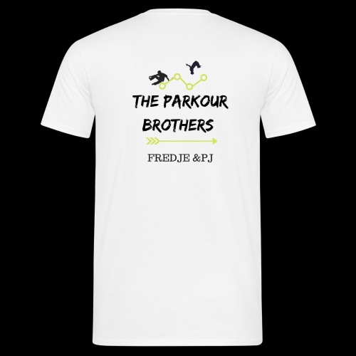 The parkours brothers T-shirt - Mannen T-shirt