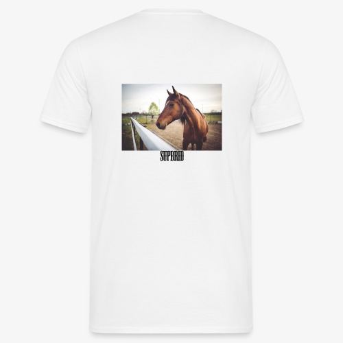 horsesupbrid - Männer T-Shirt