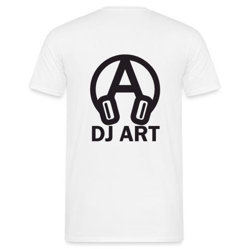 DJ Art (lichte pull-kleuren) - Mannen T-shirt