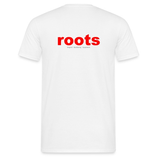 Roots Red Logo - Men's T-Shirt