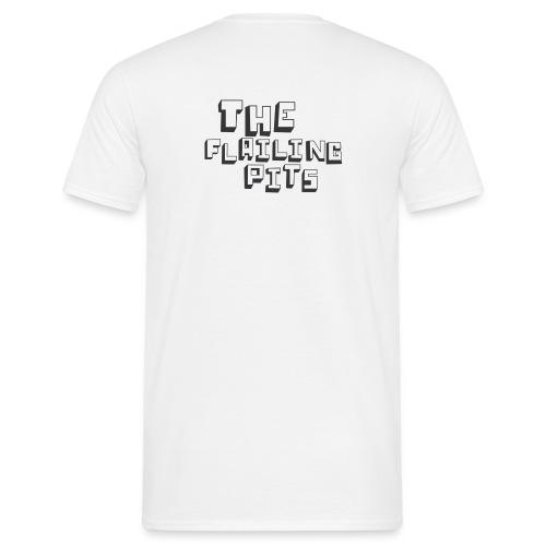 pits bit smaller - Men's T-Shirt