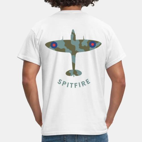 Spitfire fighter plane - Men's T-Shirt