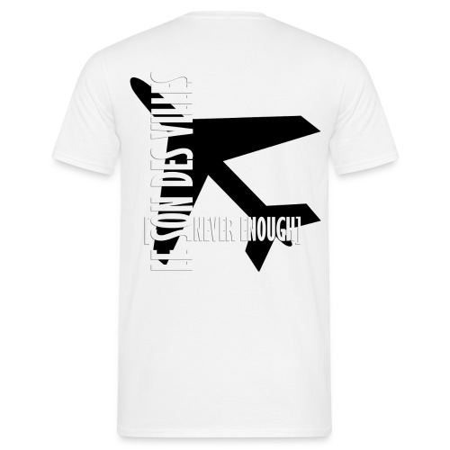 Le Son Des Villes Avion - T-shirt Homme