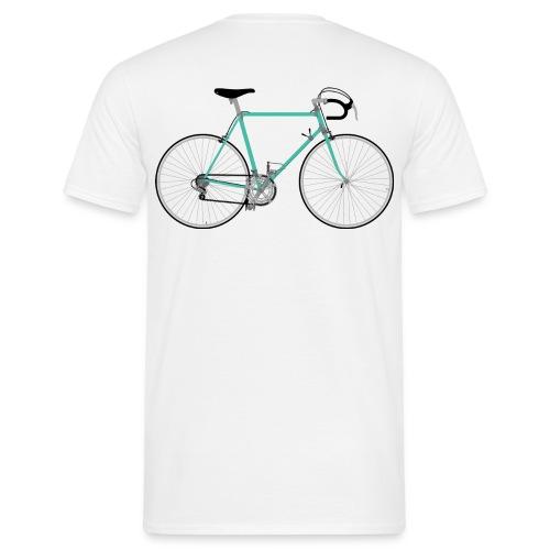 Rennrad für Hipster - Männer T-Shirt