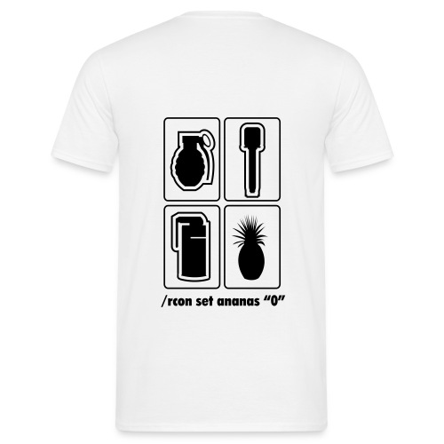 muhananasmotiv - Männer T-Shirt