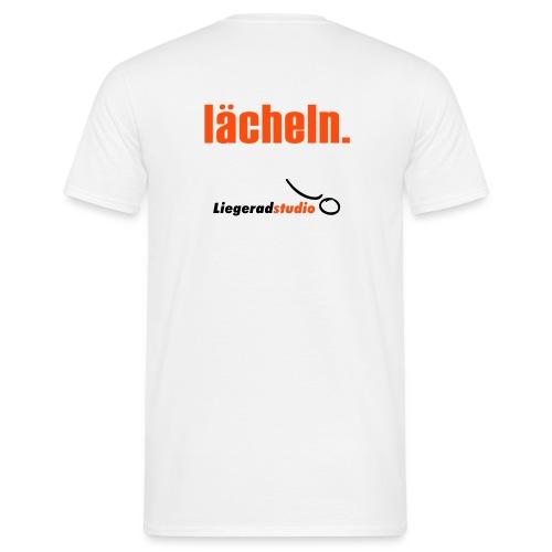 laecheln 225x225 - Männer T-Shirt