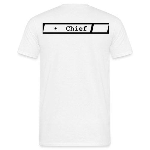 Chief - T-shirt herr