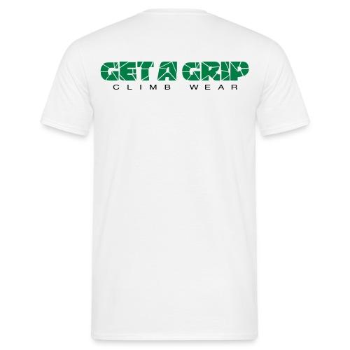 getagripclimbwearlogo02b - T-skjorte for menn