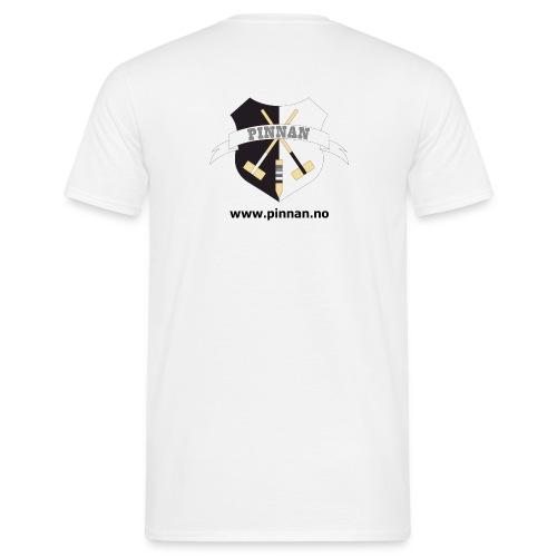 logo adresse - T-skjorte for menn