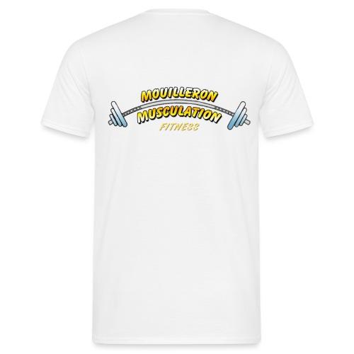 mouilleron muscu logo pour tee shirt 311 - T-shirt Homme