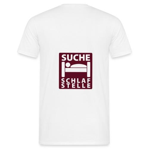 schlafstelle - Männer T-Shirt