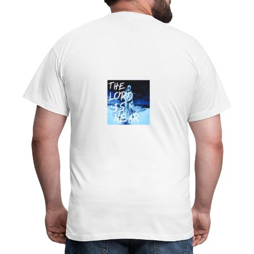 """THE LORD IS NEAR"" - T-shirt herr"
