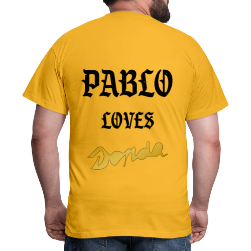 Pablo loves Donda - T-shirt Homme