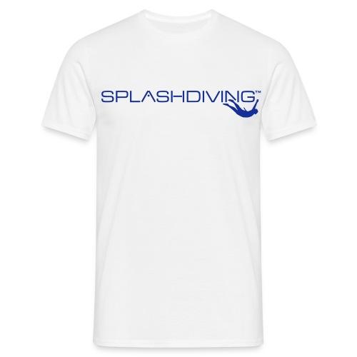 splashdiving cilogo blau - Männer T-Shirt