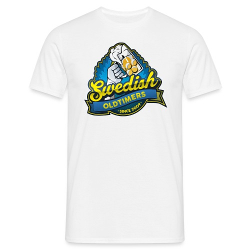 swedisholdtimers_text - T-shirt herr