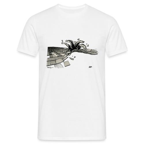 ORDER white background - Men's T-Shirt