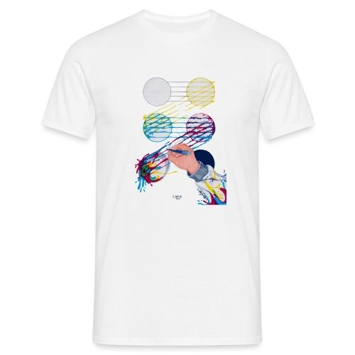 CMYK Mix and flow - Men's T-Shirt